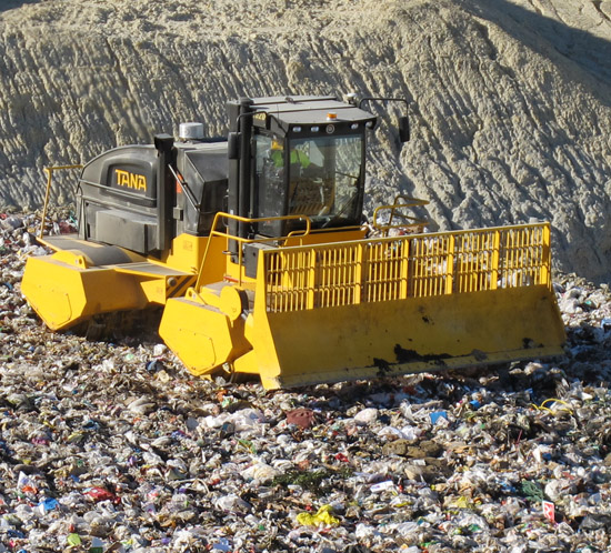 Landfill compactors