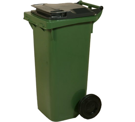 80lt low/high waste bins