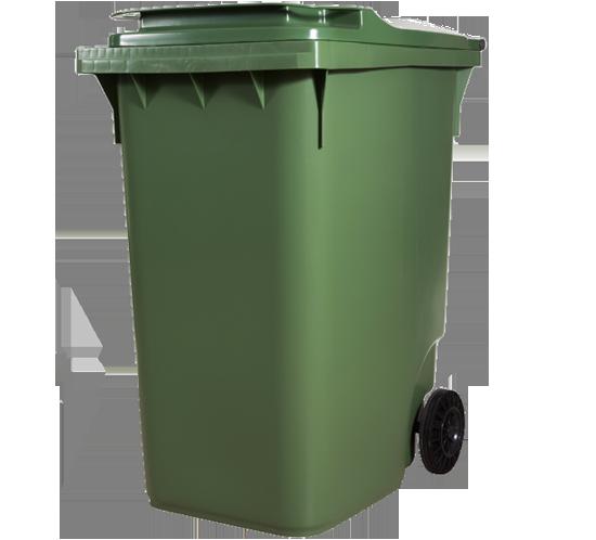 360lt waste bin