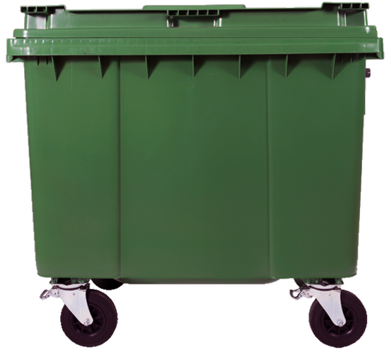 660ltr waste containers